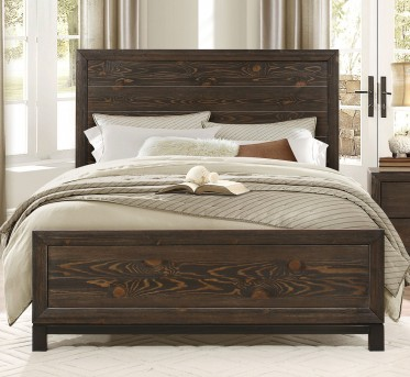 Homelegance Branton Antique Brown Queen Panel Bed Available Online in Dallas Fort Worth Texas