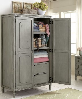 Homelegance Aviana Grey Armoire Available Online in Dallas Fort Worth Texas