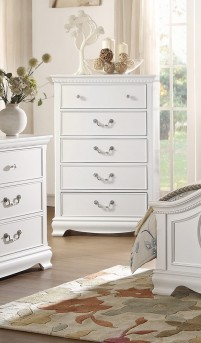 Homelegance Lucida White Chest Available Online in Dallas Fort Worth Texas