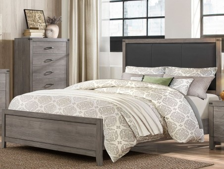 Homelegance Woodrow Queen Upholstered Panel Bed Available Online in Dallas Fort Worth Texas