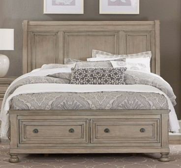 Homelegance Bethel Grey King Sleigh Platform Bed Available Online in Dallas Fort Worth Texas
