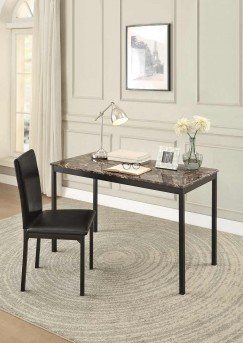 Homelegance Tempe Dark Brown Writing Desk and Chair Available Online in Dallas Fort Worth Texas