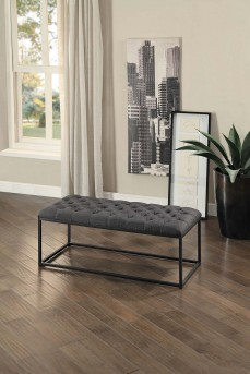 Homelegance Destry Dark Grey Bench Available Online in Dallas Fort Worth Texas
