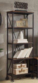 Homelegance Millwood Distressed Ash 26-inch Bookshelf Available Online in Dallas Fort Worth Texas