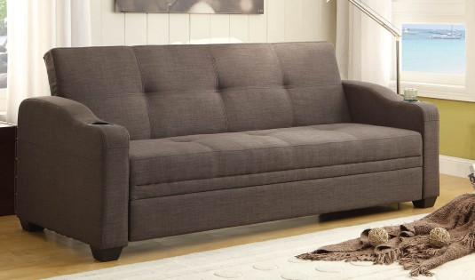 Homelegance Caffrey Dark Grey Elegant Lounger Available Online in Dallas Fort Worth Texas