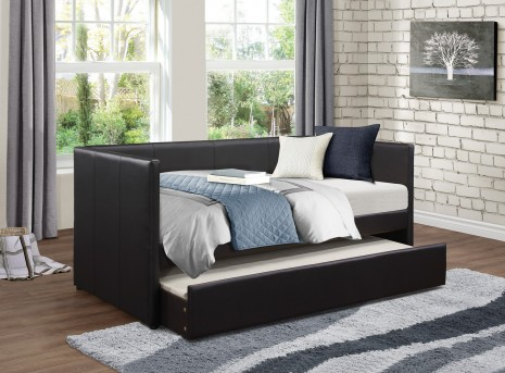 Homelegance Adra Black Daybed with Trundle Available Online in Dallas Fort Worth Texas
