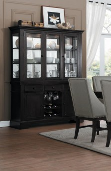 Homelegance Reid Cherry Buffet & Hutch Available Online in Dallas Fort Worth Texas