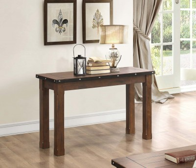 Homelegance Schleiger Brown Sofa Table Available Online in Dallas Fort Worth Texas