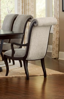 Homelegance Savion Espresso Arm Chair Available Online in Dallas Fort Worth Texas