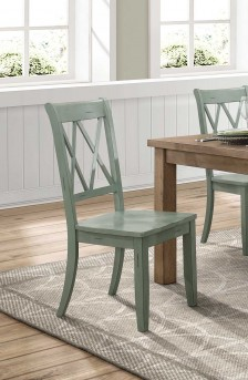 Homelegance Janina Teal Side Chair Available Online in Dallas Fort Worth Texas