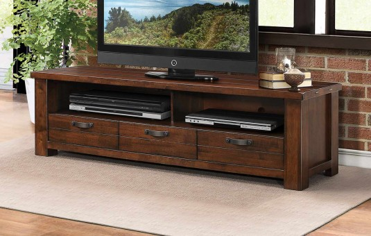 """Santos Natural Brown 68"""" TV Stand Available Online in Dallas Fort Worth Texas"""