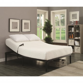 Coaster Stanhope Black Queen Adjustable Bed Base Available Online in Dallas Fort Worth Texas