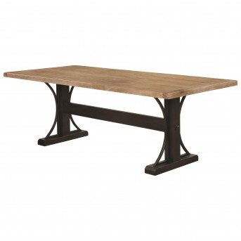 Coaster Bishop Rectangular Dining Table Available Online in Dallas Fort Worth Texas