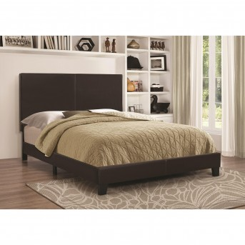 Coaster Mauve Black Low-Profile Queen Bed Available Online in Dallas Fort Worth Texas