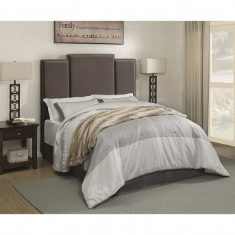 Coaster Lawndale Gray Queen Upholstered Platform Bed Available Online in Dallas Fort Worth Texas