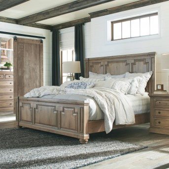 Coaster Florence Solid Pine Queen Bed Available Online in Dallas Fort Worth Texas
