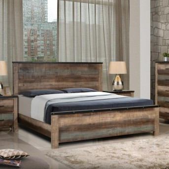 Coaster Sembene Multicolor Queen Panel Bed Available Online in Dallas Fort Worth Texas