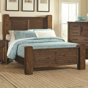 Coaster Sutter Creek Queen Poster Bed Available Online in Dallas Fort Worth Texas