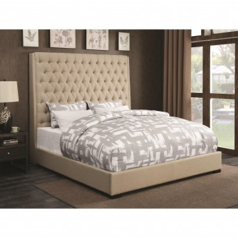 Coaster Camille Cream King Platform Bed Available Online in Dallas Fort Worth Texas