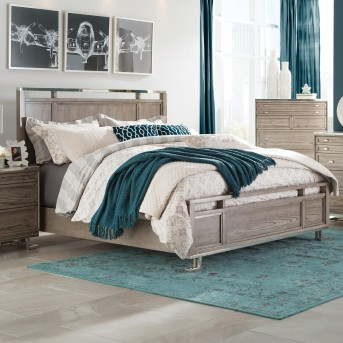 Coaster Johnathan Shell King Panel Bed Available Online in Dallas Fort Worth Texas