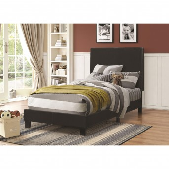 Coaster Mauve Black Twin Low-Profile Bed Available Online in Dallas Fort Worth Texas