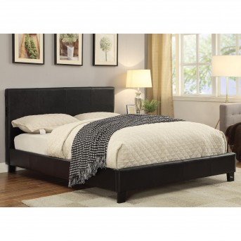 Coaster Alejandro Black Queen Upholstered Platform Bed Available Online in Dallas Fort Worth Texas
