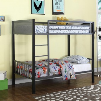 Coaster Meyers Twin/Twin Bunk Bed Available Online in Dallas Fort Worth Texas