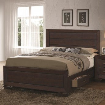 Coaster Fenbrook Dark Cocoa Queen Panel Bed Available Online in Dallas Fort Worth Texas