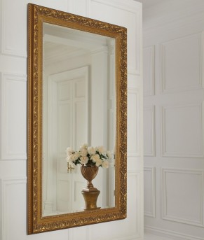 Coaster Scott Antique Gold Mirror Available Online in Dallas Fort Worth Texas