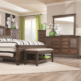 Coaster Franco Burnished Oak Chest Available Online in Dallas Fort Worth Texas