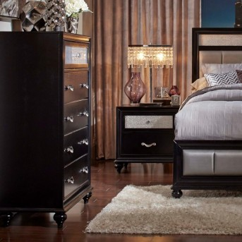 Coaster Barzini Black Chest Available Online in Dallas Fort Worth Texas