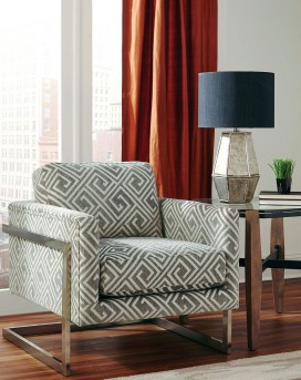 Coaster Gorges White/Grey Accent Chair Available Online in Dallas Fort Worth Texas
