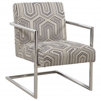 Coaster Jall Accent Chair with Geometric Pattern Available Online in Dallas Fort Worth Texas