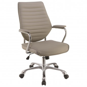 Coaster Galway Taupe High Back Adjustable Upholstered Office Chair Available Online in Dallas Fort Worth Texas