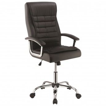 Coaster Zinnia Black Adjustable Office Chair Available Online in Dallas Fort Worth Texas