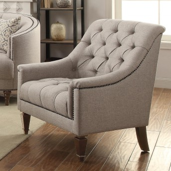Coaster Avonlea Stone Grey Chair Available Online in Dallas Fort Worth Texas