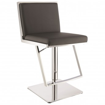 Coaster Zinnia Grey Adjustable Bar Stool Available Online in Dallas Fort Worth Texas