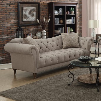 Coaster Alasdair Light Brown Sofa Available Online In Dallas Fort Worth Texas