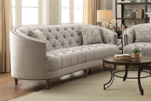 Coaster Avonlea Stone Grey Sofa Available Online in Dallas Fort Worth Texas