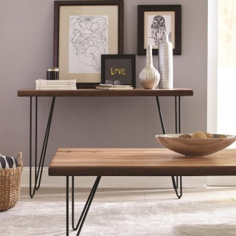 Coaster Scott Natural Honey Sofa Table Available Online in Dallas Fort Worth Texas