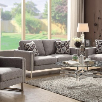 Coaster Stellan Grey Loveseat Available Online in Dallas Fort Worth Texas