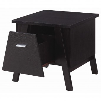 Coaster Florence Cappuccino End Table Available Online in Dallas Fort Worth Texas