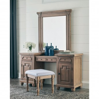Coaster Florence Solid Pine Vanity Desk Available Online in Dallas Fort Worth Texas