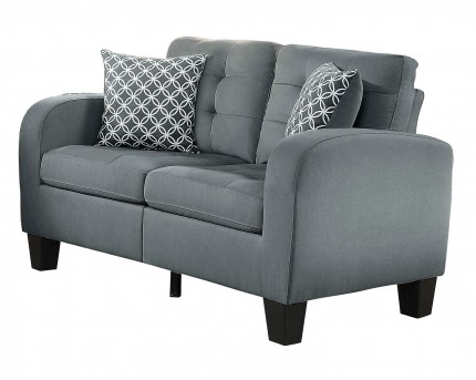 Sinclair Grey Loveseat Available Online in Dallas Fort Worth Texas