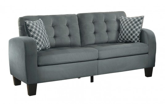 Homelegance Sinclair Grey Sofa Available Online in Dallas Fort Worth Texas