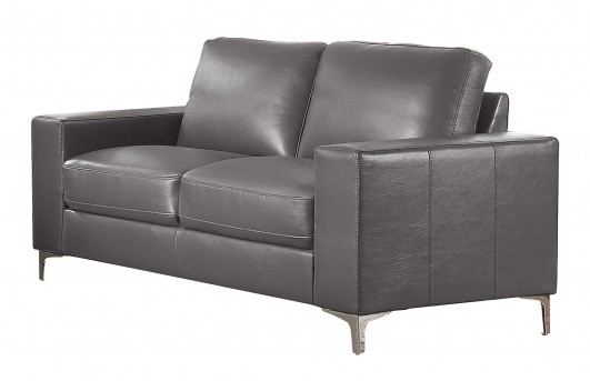 Homelegance Iniko Gray Loveseat Available Online in Dallas Fort Worth Texas