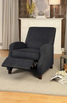 Homelegance Walden Gray Push Back Reclining Chair Available Online in Dallas Fort Worth Texas