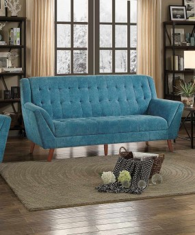 Homelegance Erath Blue Sofa Available Online in Dallas Fort Worth Texas
