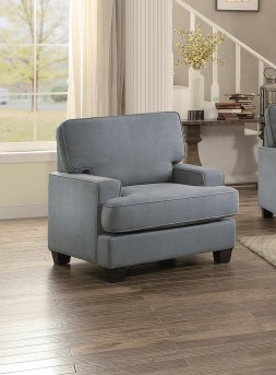 Homelegance Kenner Gray Chair Available Online in Dallas Fort Worth Texas