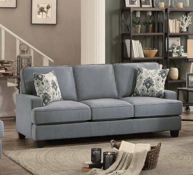 Homelegance Kenner Gray Sofa Available Online in Dallas Fort Worth Texas